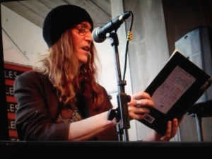 Patti Smith reading from Just Kids and performing Because the Night